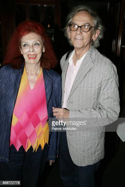 JeanneClaude and Christo attend the Reception Celebrating Joel Grey's New Book 13 IMAGES FROM MY PHONE at Michael's on June 3 2009 in New York City