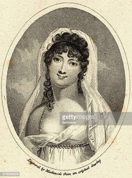 JeanneFrancoise JulieAdelaide Recamier French hostess of early 19th century Paris salon patronized by important figures both literary and political