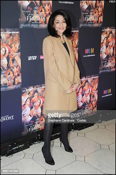 Jeannette Bougrab attends 'La Source Des Femmes' Premiere at Theatre du Chatelet in Paris
