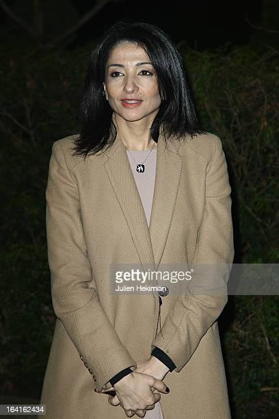 Jeannette Bougrab attends the 28th Dinner of 'Conseil Rrepresentatif Des Institutions Juives De France at Pavillon d'Armenonville on March 20 2013 in...