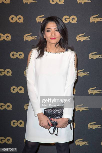 Jeannette Bougrab attends the 'GQ Men of the year awards 2013' at Museum d'Histoire Naturelle on November 20 2013 in Paris France