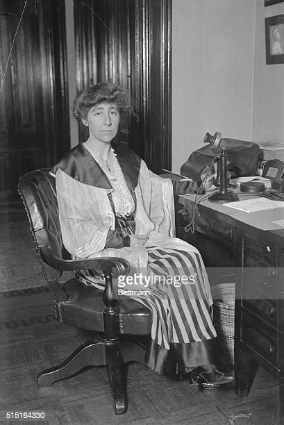 Jeannette Rankin was the first woman elected to the U.S. House of Representatives. Because of her strong pacifist beliefs, she voted against entry...