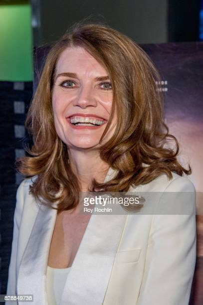 Jeannette Walls attends The Glass Castle New York screening at SVA Theatre on August 9 2017 in New York City