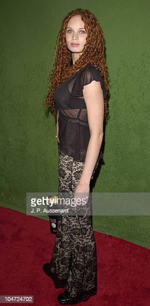 Jeannette Weegar during Deep One Year Anniversary Party at Deep in Hollywood California United States
