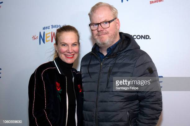Jeannie and Jim Gaffigan attend The New One Broadway Opening Night at Cort Theatre on November 11 2018 in New York City
