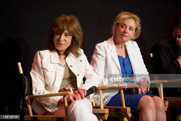 """Jeannie Berlin and J. Smith-Cameron attend the """"Margaret"""" New York Special Screening Q & A at Landmark Sunshine Theater on July 9, 2012 in New York..."""