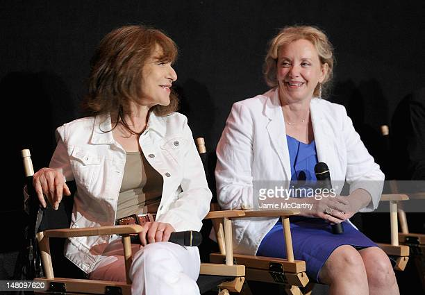 """Jeannie Berlin and J. Smith-Cameron attend the """"Margaret"""" special screening at Landmark's Sunshine Cinema on July 9, 2012 in New York City."""
