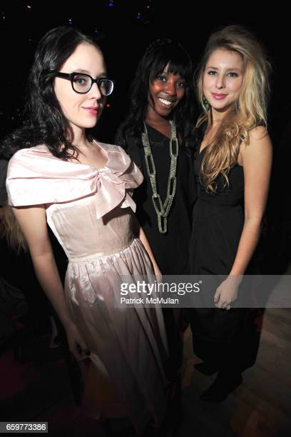 Jeannie Catmull Olivia Washington and Eliza Mcnitt attend The TISCH Gala at Frederick P Rose Hall Home of Jazz at Lincoln Center on November 2 2009...
