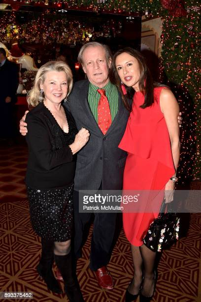 Jeannie Lawrence Patrick McMullan and Teresa Colley attend A Christmas Cheer Holiday Party 2017 Hosted by George Farias Anne and Jay McInerney at The...