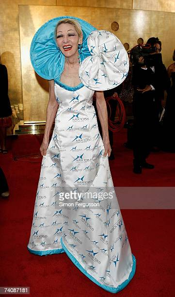 Jeannie Little arrives at the 2007 TV Week Logie Awards at the Crown Casino on May 6 2007 in Melbourne Australia The annual television awards sees...