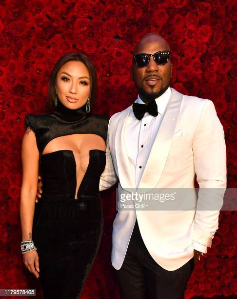 Jeannie Mai and Jeezy attend Tyler Perry Studios grand opening gala at Tyler Perry Studios on October 05, 2019 in Atlanta, Georgia.