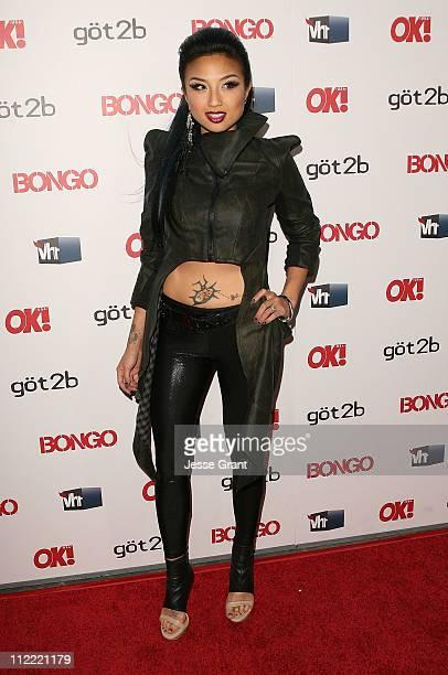 Jeannie Mai arrives at the OK Magazine Toasts Hollywood's Sexiest Singles event at the Lexington Social House on April 14 2011 in Hollywood California