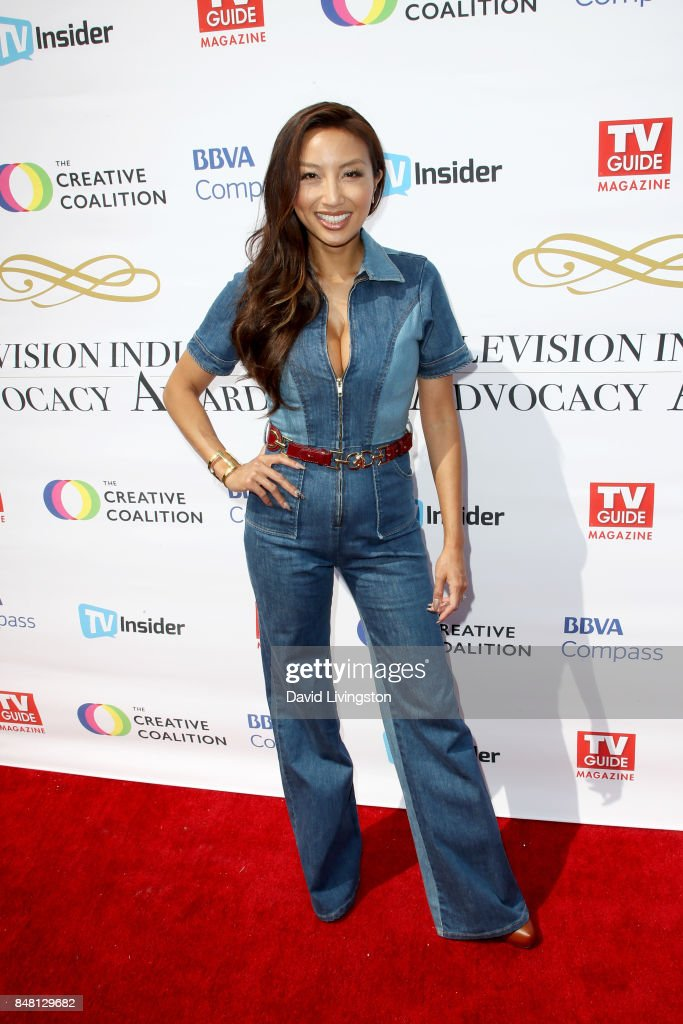 Jeannie Mai at the Television Industry Advocacy Awards at TAO Hollywood on September 16, 2017 in Los Angeles, California.
