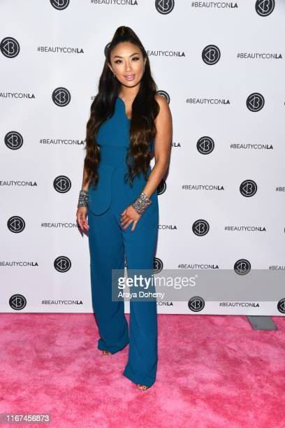 Jeannie Mai attends Beautycon Festival Los Angeles 2019 at Los Angeles Convention Center on August 11, 2019 in Los Angeles, California.