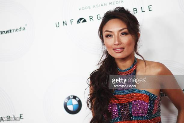 Jeannie Mai attends the 16th Annual Unforgettable Gala at The Beverly Hilton Hotel on December 9, 2017 in Beverly Hills, California.