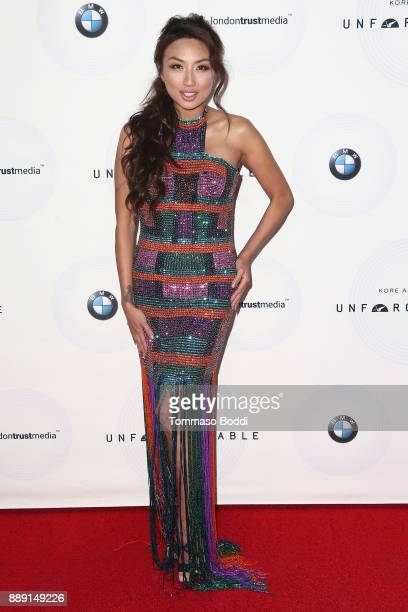 Jeannie Mai attends the 16th Annual Unforgettable Gala at The Beverly Hilton Hotel on December 9 2017 in Beverly Hills California