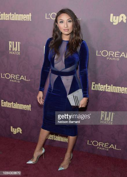 Jeannie Mai attends the 2018 Pre-Emmy Party hosted by Entertainment Weekly and L'Oreal Paris at Sunset Tower on September 15, 2018 in Los Angeles,...