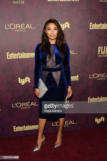 Jeannie Mai attends the 2018 PreEmmy Party hosted by Entertainment Weekly and L'Oreal Paris at Sunset Tower Hotel on September 15 2018 in West...