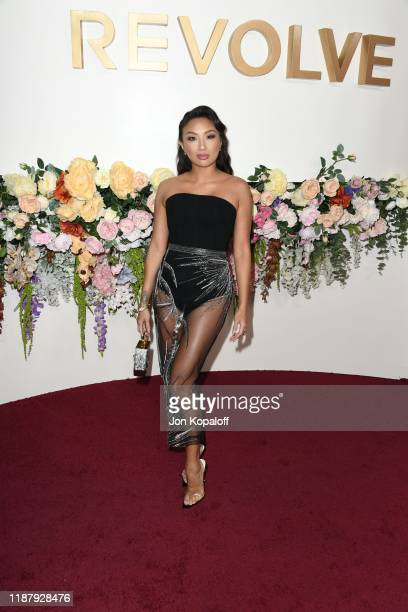 Jeannie Mai attends the 3rd Annual #REVOLVEawards at Goya Studios on November 15 2019 in Hollywood California