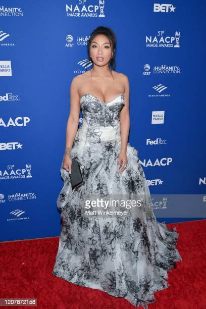 Jeannie Mai attends the 51st NAACP Image Awards non-televised Awards Dinner on February 21, 2020 in Hollywood, California.