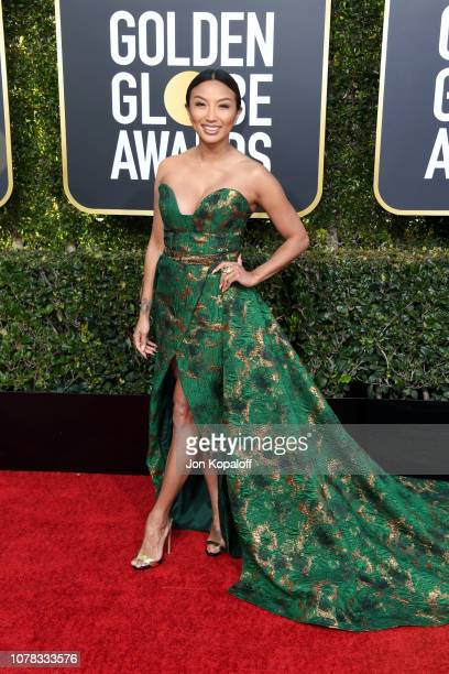 Jeannie Mai attends the 76th Annual Golden Globe Awards at The Beverly Hilton Hotel on January 6, 2019 in Beverly Hills, California.