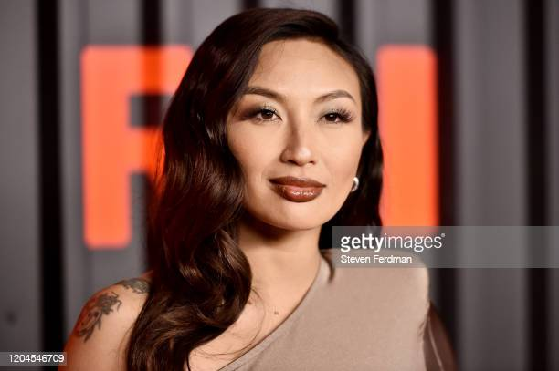 Jeannie Mai attends the Bvlgari B.zero1 Rock collection event at Duggal Greenhouse on February 06, 2020 in Brooklyn, New York.