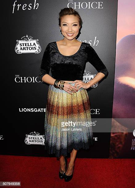 Jeannie Mai attends the premiere of 'The Choice' at ArcLight Cinemas on February 1 2016 in Hollywood California