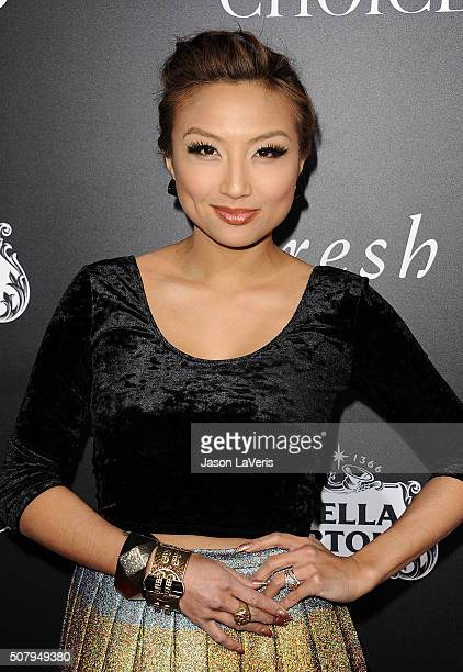 Jeannie Mai attends the premiere of The Choice at ArcLight Cinemas on February 1 2016 in Hollywood California