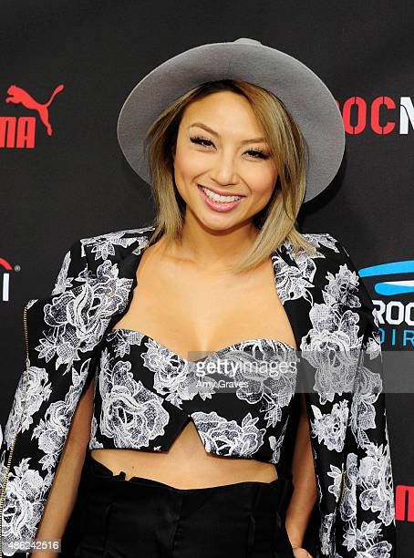 Jeannie Mai attends the Roc Nation Grammy Brunch 2015 on February 7 2015 in Beverly Hills California