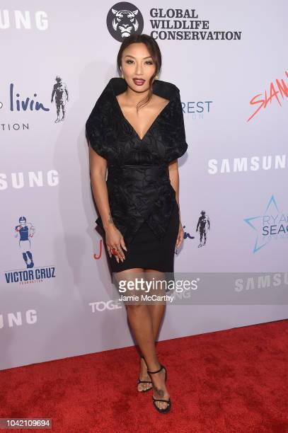 Jeannie Mai attends the Samsung Charity Gala 2018 at The Manhattan Center on September 27 2018 in New York City