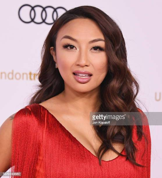 Jeannie Mai attends the Unforgettable Gala 2018 at The Beverly Hilton Hotel on December 8 2018 in Beverly Hills California