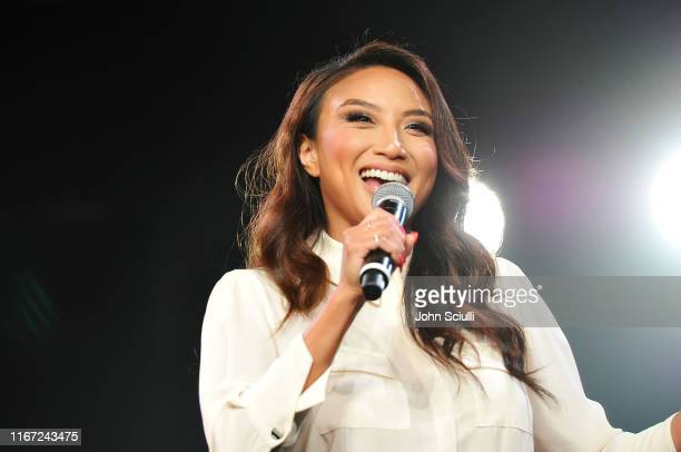 Jeannie Mai speaks onstage during Beautycon Festival Los Angeles 2019 at Los Angeles Convention Center on August 10, 2019 in Los Angeles, California.