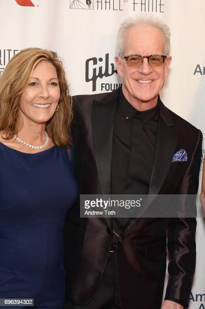 Jeannie Pankow and 2017 Inductee James Pankow attend the Songwriters Hall Of Fame 48th Annual Induction and Awards at New York Marriott Marquis Hotel...