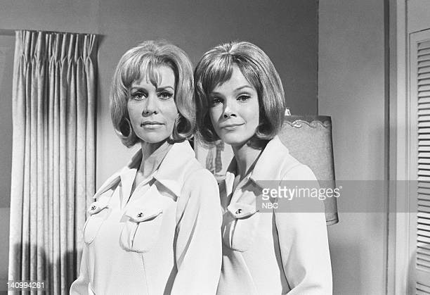 """Jeannie's Beauty Cream"""" Episode 5 -- Aired 10/14/69 -- Pictured: Emmaline Henry as Amanda Bellows, Laraine Stephens as the new Amanda -- Photo by:..."""