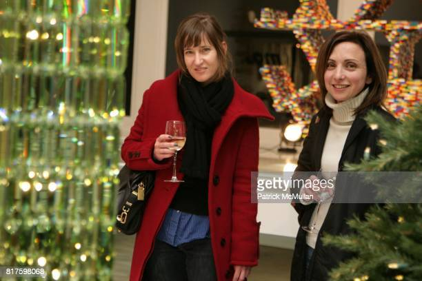 Jeannine Durfee D Apostrophe and Alex Cabat attend SWAROVSKI CRYSTAL PALACES The Art of Light and Crystal Book Launch at MOSS on December 15 2010 in...