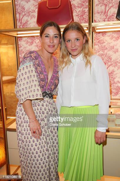 Jeannine Michaelsen and Anna Lena Klenke during the Cartier x Munich Film Festival Cocktail on June 26, 2019 in Munich, Germany.
