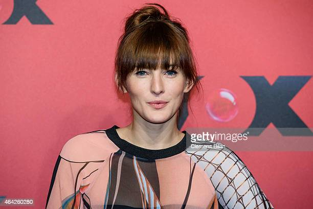 Jeannine Michaelsen attends a photocall for the TV channel VOX on February 23 2015 in Berlin Germany