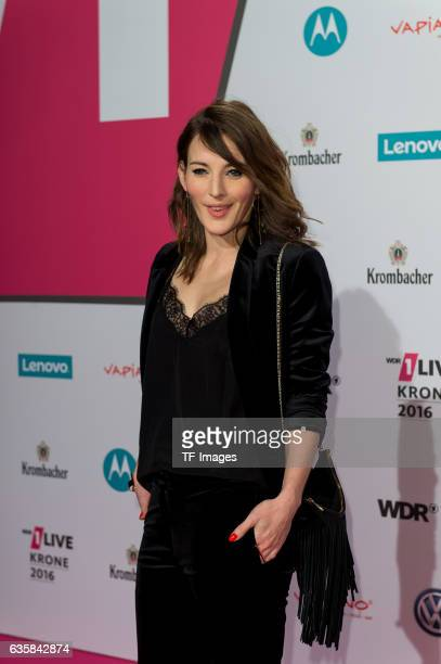 Jeannine Michaelsen attends the 1Live Krone at Jahrhunderthalle on December 1, 2016 in Bochum, Germany.