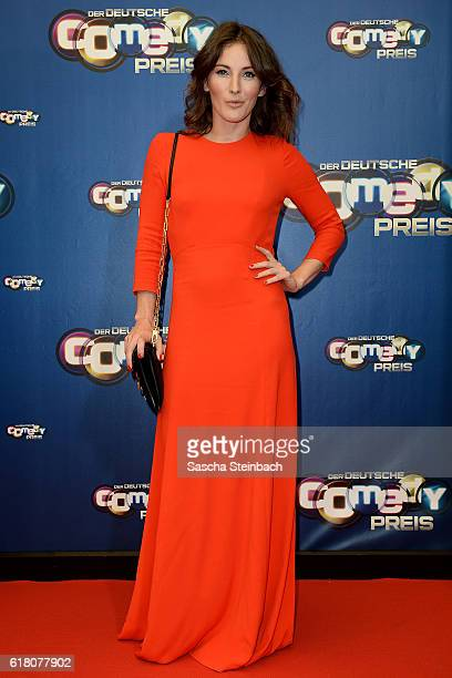 Jeannine Michaelsen attends the 20th Annual German Comedy Awards at Coloneum on October 25 2016 in Cologne Germany
