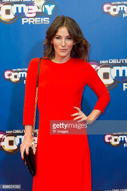 Jeannine Michaelsen attends the 20th Annual German Comedy Awards at Coloneum on October 25, 2016 in Cologne, Germany.