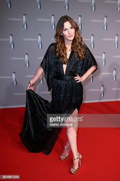 Jeannine Michaelsen attends the German Television Award at Rheinterrasse on January 13 2016 in Duesseldorf Germany