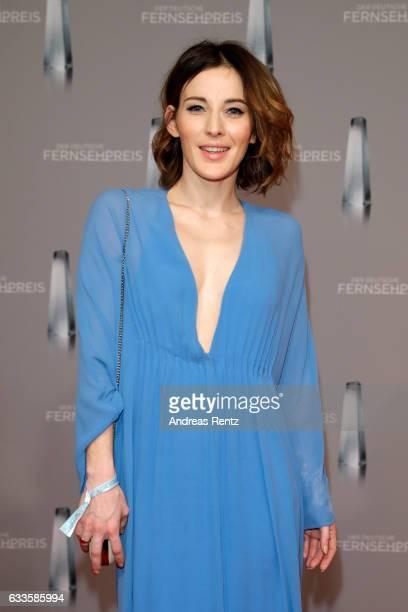 Jeannine Michaelsen attends the German Television Award at Rheinterrasse on February 2 2017 in Duesseldorf Germany