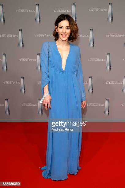 Jeannine Michaelsen attends the German Television Award at Rheinterrasse on February 2, 2017 in Duesseldorf, Germany.