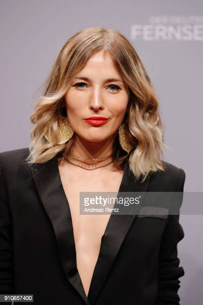 Jeannine Michaelsen attends the German Television Award at Palladium on January 26, 2018 in Cologne, Germany.