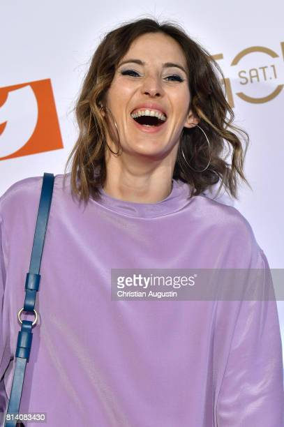 Jeannine Michaelsen attends the program presentation of the television channel ProSiebenSat.1 on July 13, 2017 in Hamburg, Germany.