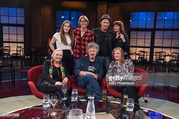 Jeannine Michaelsen, Bettina Boettinger, Heiner Lauterbach, Hanka Rackwitz Barbara Schoene, Wolfgang Niedecken and Nina Petri attend the 'Koelner...