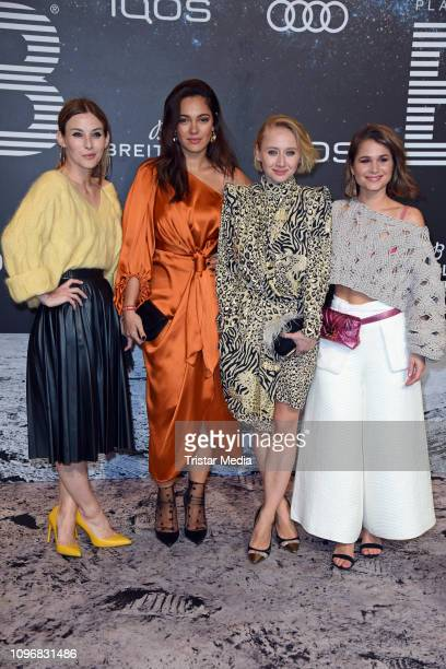 Jeannine Michaelsen, Nilam Farooq, Anna Maria Muehe and Cristina do Rego attend the PLACE TO B Berlinale party during 69th Berlinale International...