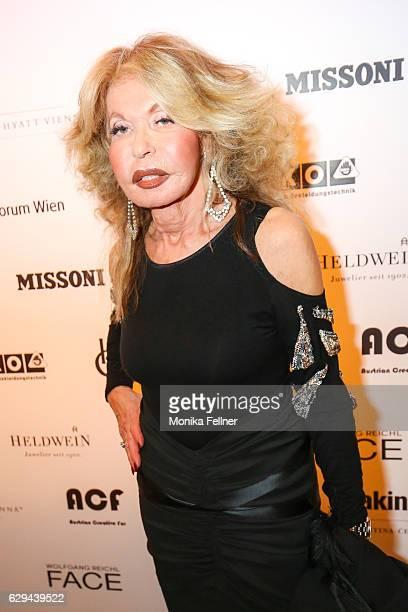 Jeannine Schiller attends the Haute Couture Austria Awards at Park Hyatt Vienna on December 12 2016 in Vienna Austria