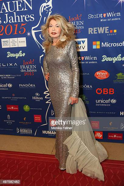 Jeannine Schiller attends the Look Women Of The Year Awards 2015 at the city hall on November 17 2015 in Vienna Austria