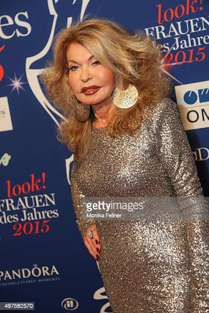 Jeannine Schiller attends the Look Women Of The Year Awards 2015 at the city hall on November 17, 2015 in Vienna, Austria.